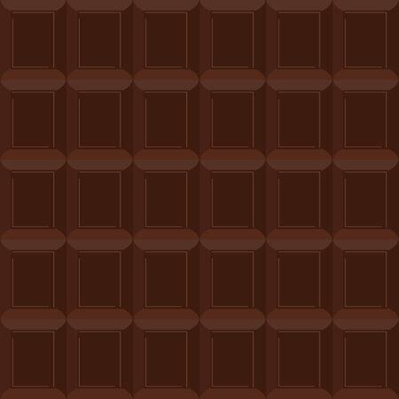 fondo chocolate: Chocolate sin patr�n. Vector textura es de fondo de chocolate agridulce