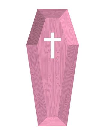 trumna: Różowa trumna