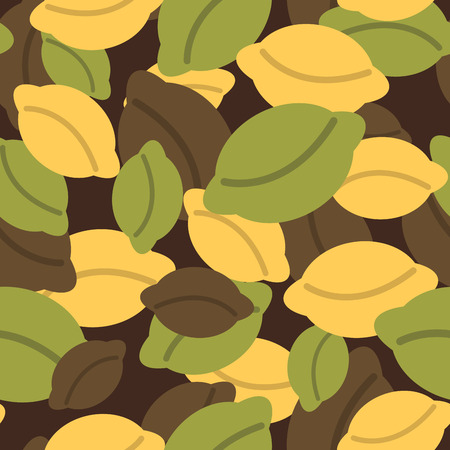 camoflage: Military texture of dumplings. Camouflage army seamless pattern from Russian dumplings. Soldiers patriotic seamless background for Russian soldiers. Illustration