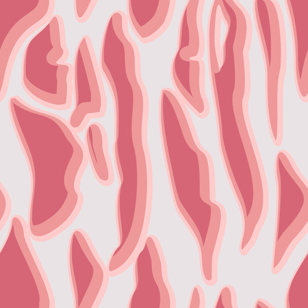 fresh meat: Meat texture is seamless. Vector pattern surface raw fresh meat.