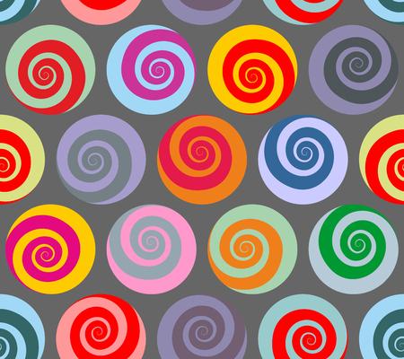 963ed7c5c  47552831 - Espiral patrón de colores sin fisuras. ornamento abstracto  retro de los caracoles para las telas