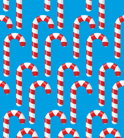 Red striped candy holiday. Christmas and new years Mint candy. Sweets Candy Reed. Vectores