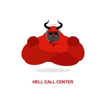 satanas: Infierno centro de llamadas. Satan�s con un aud�fono. Diablo responde a las llamadas telef�nicas. Comentarios del cliente para el purgatorio. Soporte y servicio al cliente.