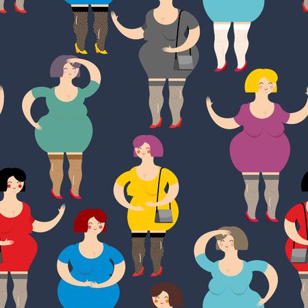 femmes nues sexy: Nuit Prostituée de pattern. Beaucoup de femmes sont des putains. femmes grasses travailleurs de l'industrie du sexe drôles. Texture de personnes.
