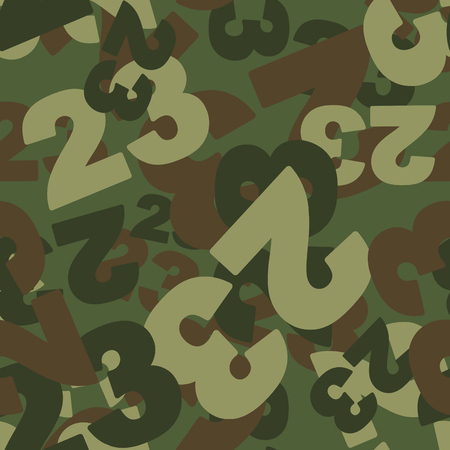 defenders: 23 February camoflauge. Defenders day military seamless pattern. Texture for soldiers from 23 digits. Army protective background.