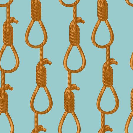 ahorcado: cuerda verdugo patr�n transparente. Textura del ahorcado. Antecedentes de la cuerda bucle Vectores