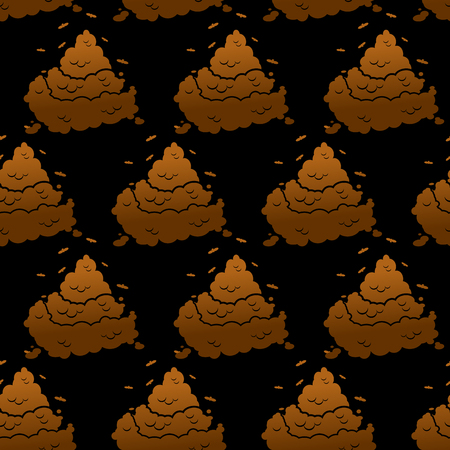 feces: Brown turd background. Pile of poop texture. feces and dog excrement