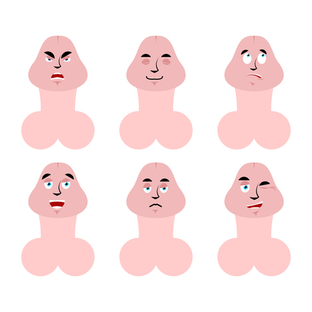 Emotions penis. Set expressions avatar Member. good and evil. discouraged and cheerful. Sad and sleepy