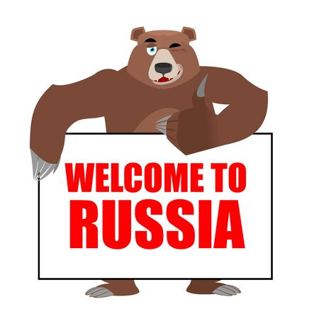 225 Welcome To Russia Stock Vector Illustration And Royalty Free ...