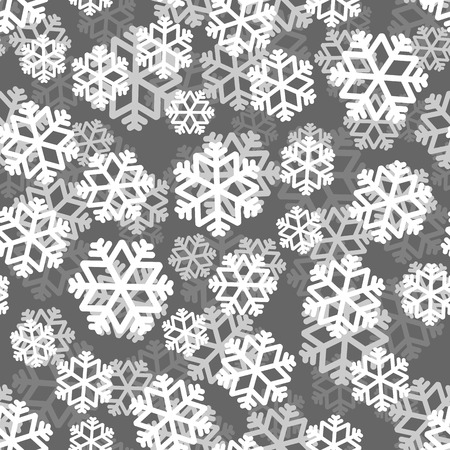 snowfall: Snowflakes pattern 3D. Snow texture. Winter background. Snowfall ornament