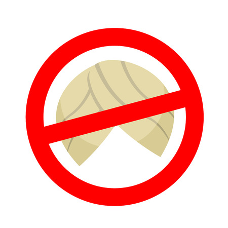turban: Stop migrants. Ban illegal migration. Red prohibition sign. Crossed turban Illustration