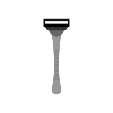 shaver: Razor isolated. Hair shaving machine on white background. Shaver depilation