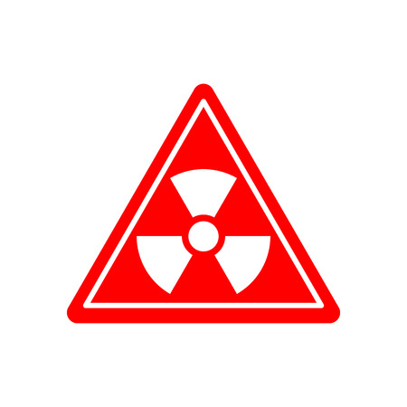 radioisotope: Radiation Danger sign. Caution chemical hazards. Warning sign of radioactive contamination