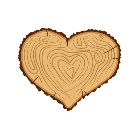 Harthout. Ik hou van boom. Zoals brandhout