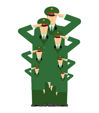 relatives: Military family. Relatives of soldiers. Army stirpes. Russian officers in uniform. Illustration for Defenders of Fatherland Day. Military holiday in Russia. February 23 Illustration