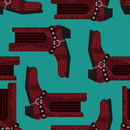Cowboy boots pattern. Australian shoes background. Western clothing and rodeo texture