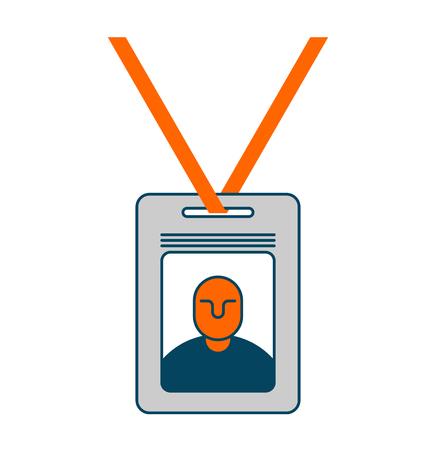 Badge isolated on white background.