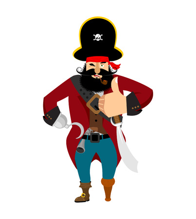 Pirate thumbs up