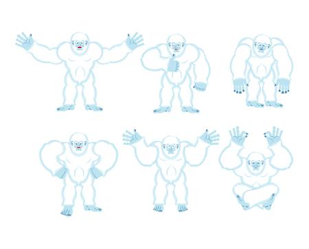 Yeti set poses and motion