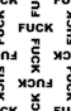 Fuck pixel art seamless pattern. Vector illustration