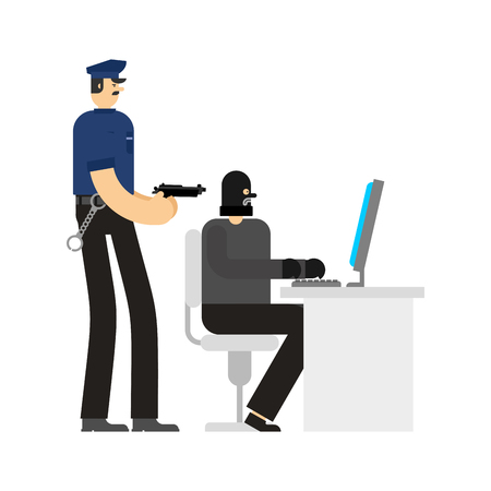 Cop and Hacker works PC Detention.