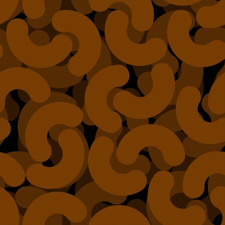 Piece of shit pattern seamless. Turd background. Vector texture Ilustração