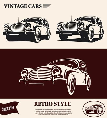 TIquette de voiture Vintage Banque d'images - 45354770