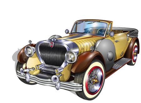Vintage Car Фото со стока - 48549392