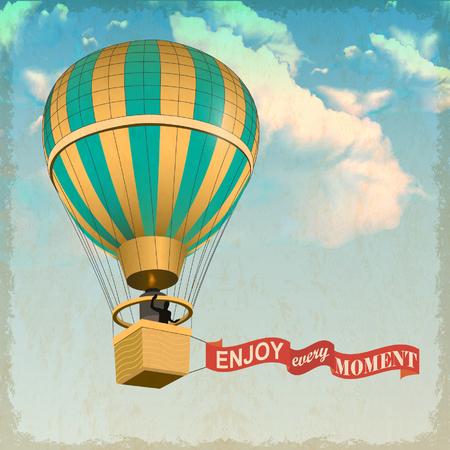 Luchtballon Stock Illustratie