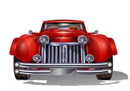 classic: Retro car.