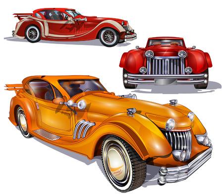 Retro samochodów
