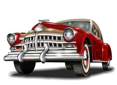 Retro car. Фото со стока - 50143106
