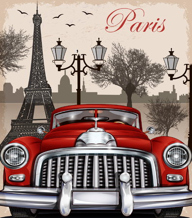 tower, retro, automotive, isolated, 1960s, turkey, model, wheels, travel, mosque, 1950s, vector, sign, exclusive, holiday, symbol, summer, graphic, obsolete, drawing, vehicle, asia, nostalgia, emblem, automobile, illustration, icon, transport, rent, desig Stock Illustratie