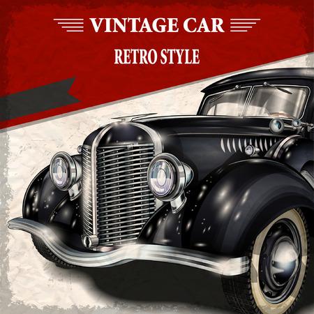 Vintage voiture Banque d'images - 52512414