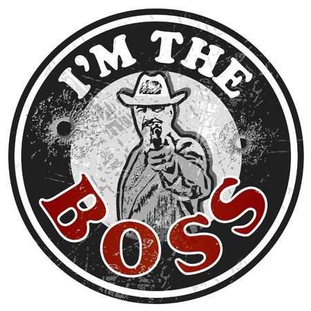 organized crime: The Mafia boss rubber stamp.