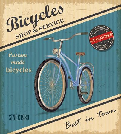 Bicycle Vintage Background