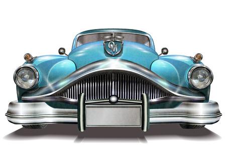 Retro Auto. Standard-Bild - 70940593