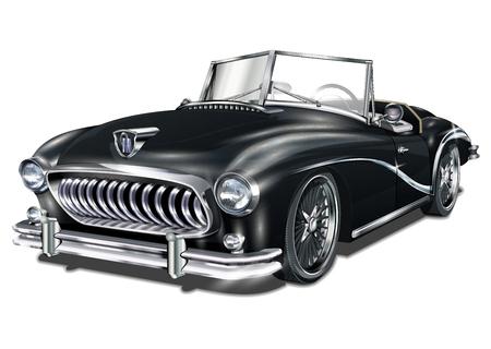 Samochód Vintage