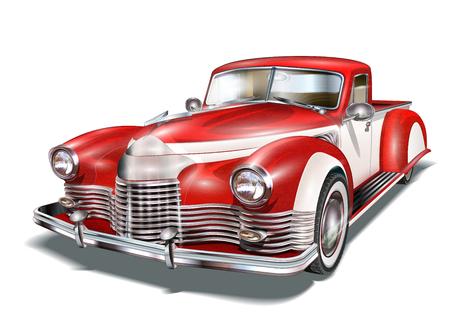 Vintage Car 免版税图像 - 80890033