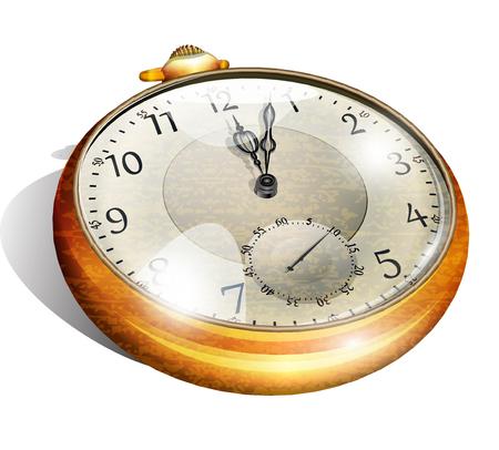 빈티지 회중 시계
