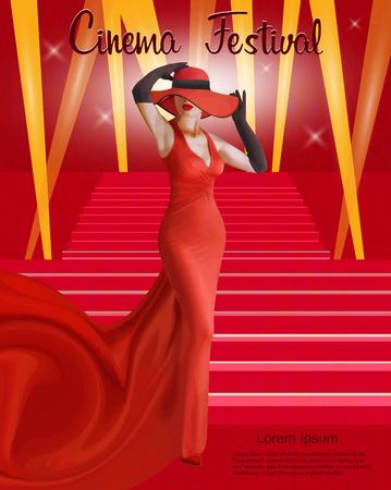 Cinema festival poster.