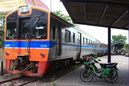 estacion de tren: Estaci�n de Trenes en Tailandia