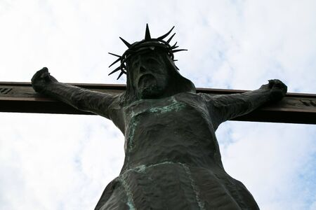 crucifiction: Jesus Christ on the rood
