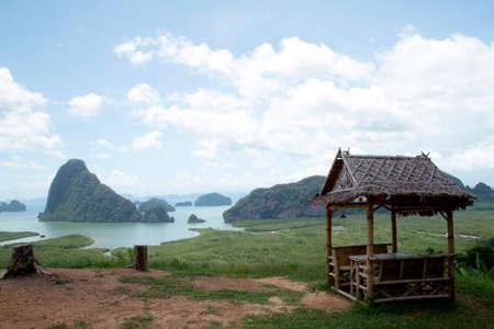phang nga: Scenic spots at Phang Nga Thailand.