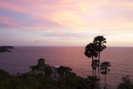View Point Promthep Cape Thailand.