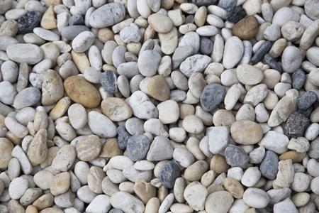 美しい砂利表面背景。 写真素材