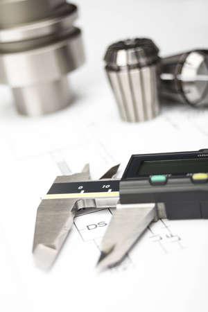 Measuring machining tools Standard-Bild