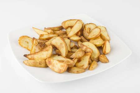 Baked potatoes Standard-Bild