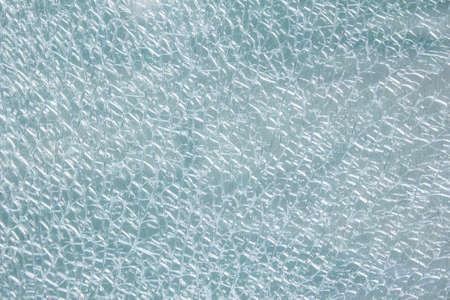 shattered glass: Broken tempered glass