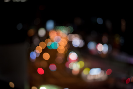 highway lights: Blurred  Defocussed abstract background of city and highway lights taken in Japan